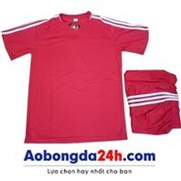 Áo Traning không logo màu đỏ (mẫu 54)