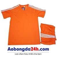 Quần áo không logo Traning màu cam (mẫu 53)