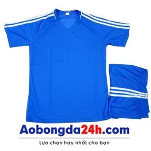 Áo thể thao không logo Traning xanh da trời (mẫu 50)