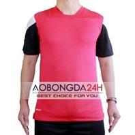 Áo không logo Traning màu hồng (mẫu 38)