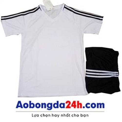 Quần áo Traning không logo trắng (mẫu 51)