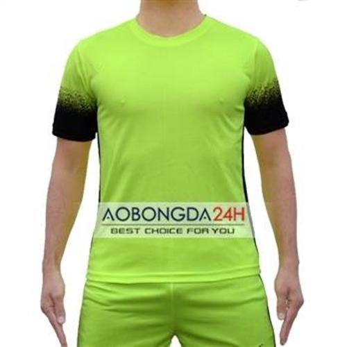 Áo không logo Traning xanh nõn chuối (mẫu 42)