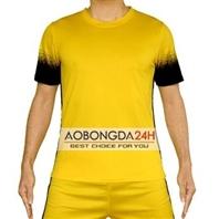 Áo bóng đá không logo Traning vàng (mẫu 45)