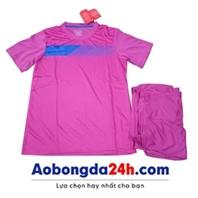 Áo đá banh không logo Traning màu tím (mẫu 60)