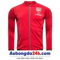 Áo khoác thể thao nam Arsenal 2018 đỏ (Mẫu 03)