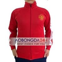 Áo Khoác thể thao Manchester United 2014 - 2015 Đỏ (Mẫu 02)
