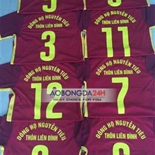 Mẫu in áo đá bóng số 11