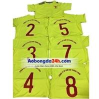 Mẫu in áo đá bóng số 26