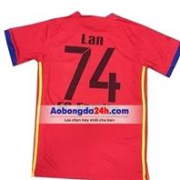 Mẫu in áo đá bóng số 92