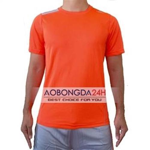 Áo thể thao không logo màu cam Trainning (mẫu 12)