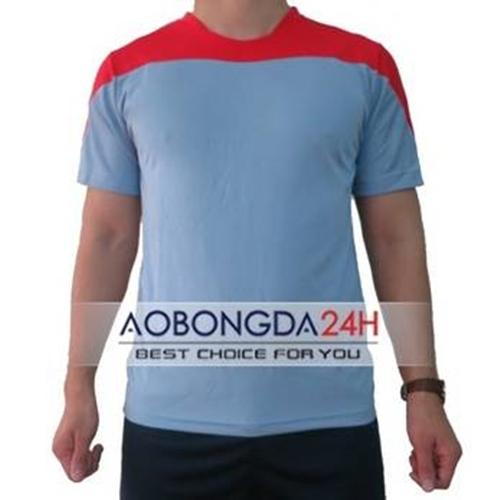 Áo bóng đá Traning không logo xanh ngọc (mẫu 32)