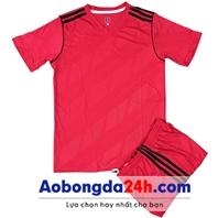 Áo không logo Traning màu đỏ (mẫu 70)