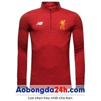 Áo khoác bóng đá Liverpool 2018 đỏ (Mẫu 01)