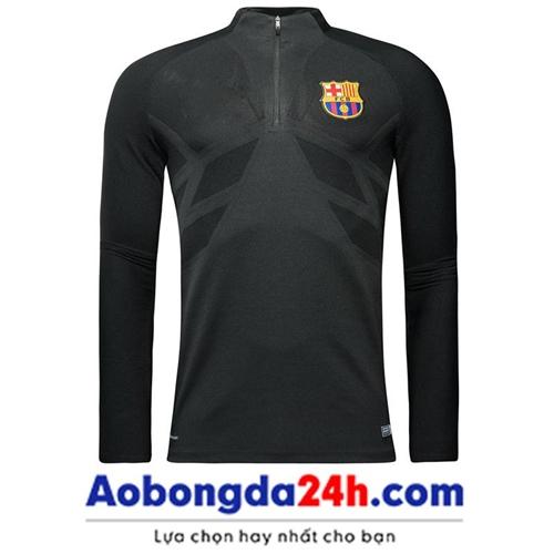 Áo khoác bóng đá CLB Barca 2018 (Mẫu 03)