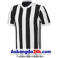 Áo không logo Juventus 2018 sọc trắng sân nhà