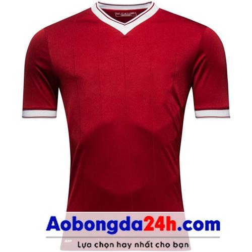 Áo bóng đá không logo Liverpool 2018 đỏ sân nhà