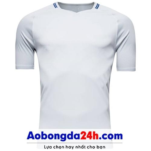 Áo không logo Chelsea 2018 trắng sân khách