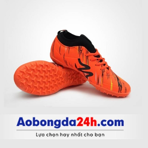 Giày đá bóng Mitre 160930 cổ cao màu cam