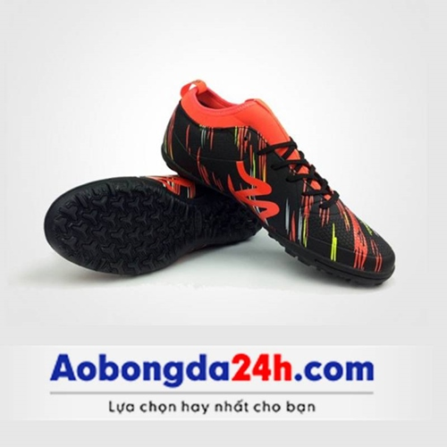Giày Mitre 160930 cổ cao màu đen đỏ