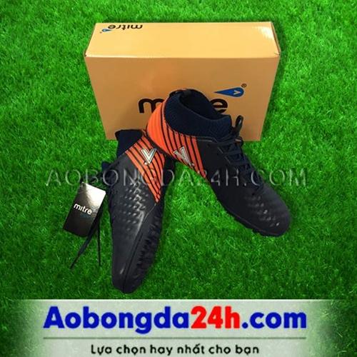 Giày đá bóng 170434 màu đen cổ cao