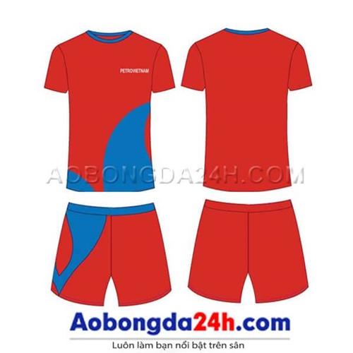 Mẫu áo bóng đá tự thiết kế mẫu 23