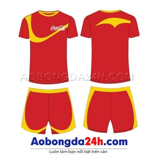 Mẫu áo bóng đá tự thiết kế mẫu 25