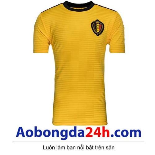 Áo đội tuyển Bỉ sân khách World Cup 2018 - 2019 màu vàng