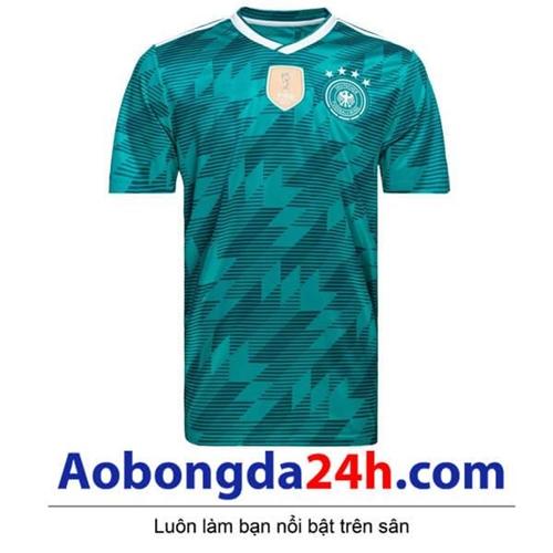 Áo Đức Xanh Ngọc sân khách World Cup 2018 - 2019