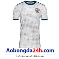 Áo đội tuyển Nga World Cup 2018 sân khách màu trắng