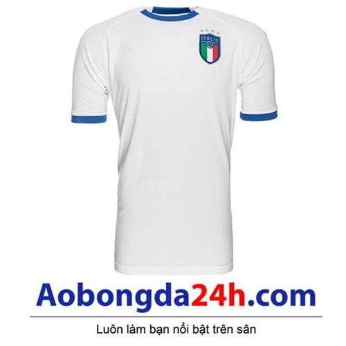 Áo Ý sân khách mùa giải 2018 - 2019 màu trắng