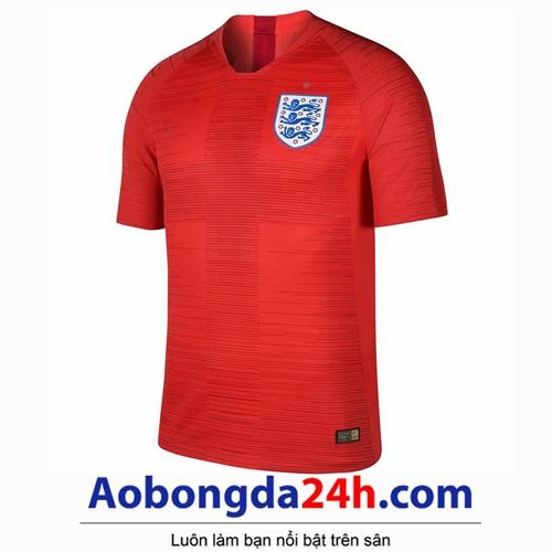 Áo đội tuyển Anh World Cup 2018 sân khách màu đỏ