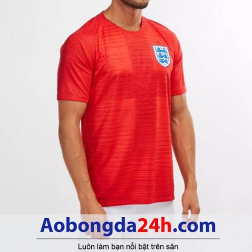 Áo tuyển Anh 2018 - 2019 sân khách màu đỏ