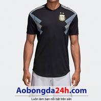 Áo đấu Argentina 2018 - 2019 sân khách màu đen