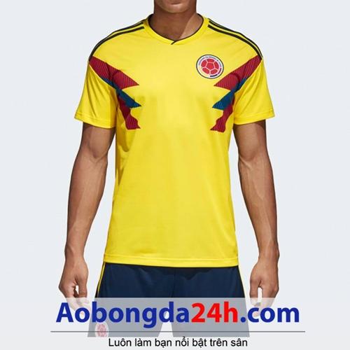 Áo đội tuyển Colombia World Cup 2019 vàng