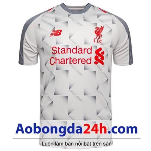 Áo Liverpool 2018-2019 sân khách màu trắng