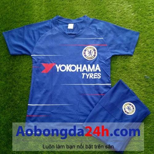 Quần áo thể thao trẻ em Chelsea 2018-2019 sân nhà