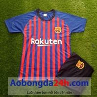 Quần áo thể thao trẻ em Barcelona 2018-2019 sân nhà