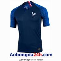Áo Pháp sân nhà mùa giải 2018 - 2019 màu xanh