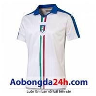 Áo đá bóng Italia 2017 màu trắng