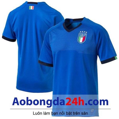 Áo Italia 2018 - 2019 sân nhà màu xanh