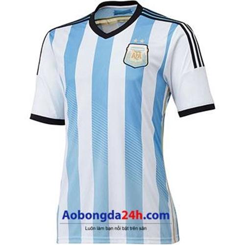 Áo đội tuyển Argentina World Cup 2014 sân nhà