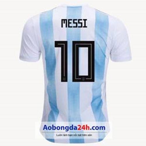 Mẫu áo Messi của đội tuyển Argentina