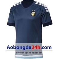 Áo đá banh Argentina 2016 - 2017 màu tím than