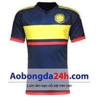 Áo đá banh Colombia 2015 - 2016 sân khách