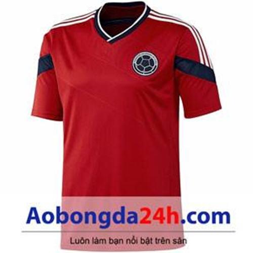 Áo đấu Colombia World Cup 2014 màu đỏ