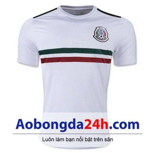 Áo đội tuyển Mexico World Cup 2018 - 2019 sân khách