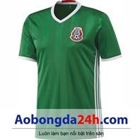 Áo Mexico 2016 - 2017 sân nhà màu xanh lá cây