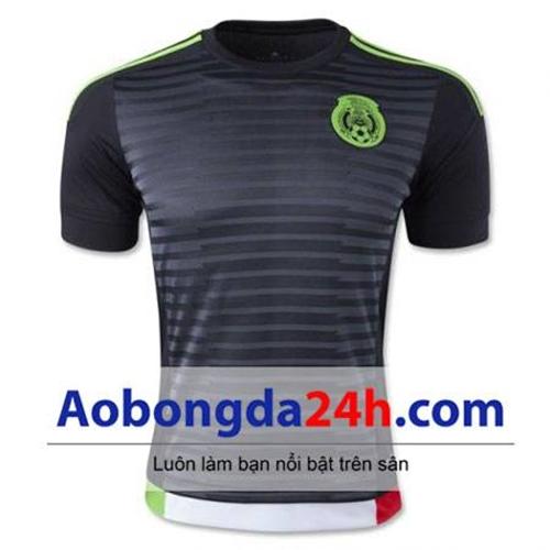 Áo đấu Mexico 2015 - 2016 sân nhà màu đen