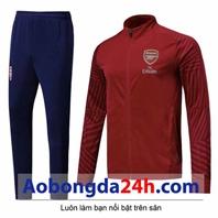 Bộ quần áo nỉ thể thao cao cấp Arsenal 2018