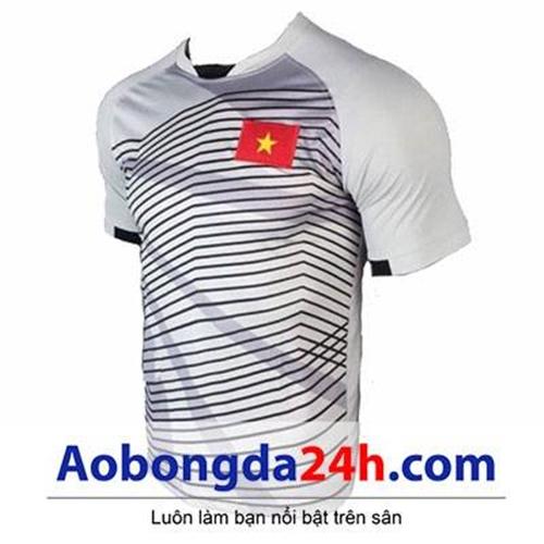 Áo thủ môn đội tuyển U23 Việt Nam 2018 sọc trắng
